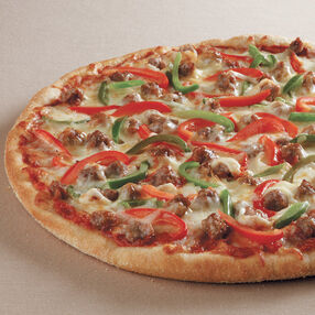 Sausage and Pepper Pizza