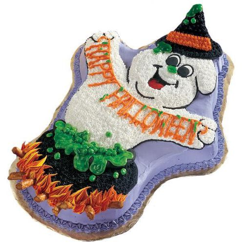Fired Up for Halloween! Cake