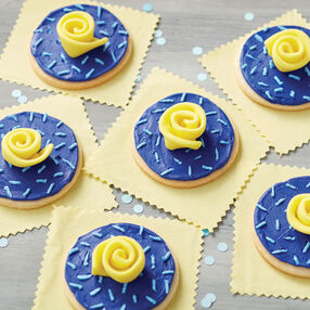 Royal Rose Cookies