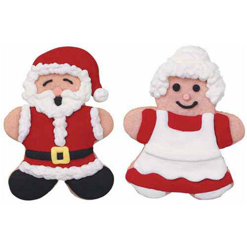 The Christmas Couple Cookies