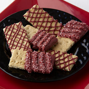 Candy Dazzled Graham Crackers
