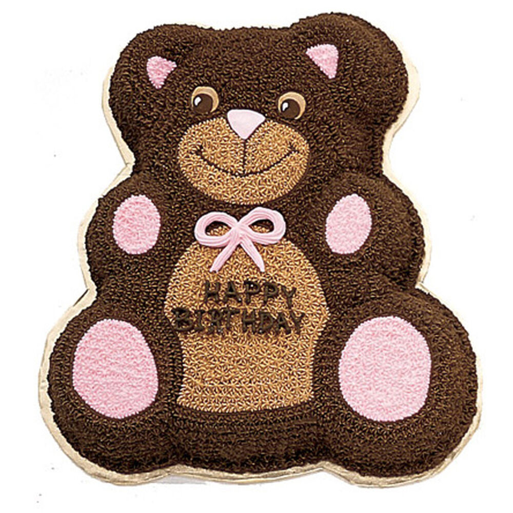 Wilton Teddy Bear Cake Ideas