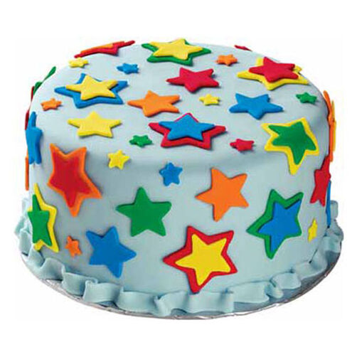 Colorful Star Cake