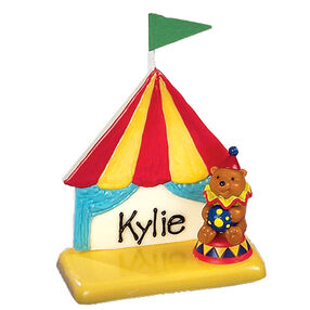 Circus Candy Name Tags