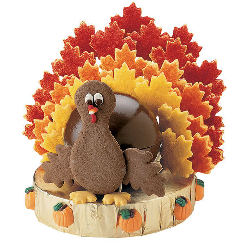Decorated Chocolate Turkeys Www Dunmorecandykitchen Com: They'll Gobble It Up Cookies