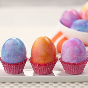 Tie-Dyed Easter Eggs