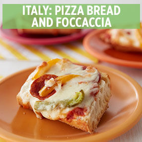 Kids' Italy: Pizza Bread and Focaccia Class