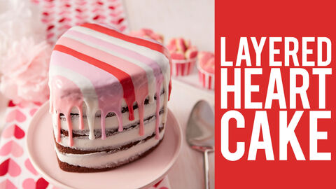 Layers Of Love Cake Wilton