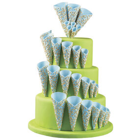 Bugle Call Three-Tier Cake