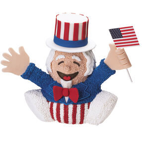 Uncle Sam Leads The Cheers Cake