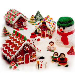 Snowmen, Villagers & Tree Cookies