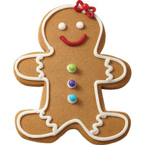Traditional Gingerbread Girl