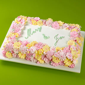 Blooming Bouquet Sheet Cake
