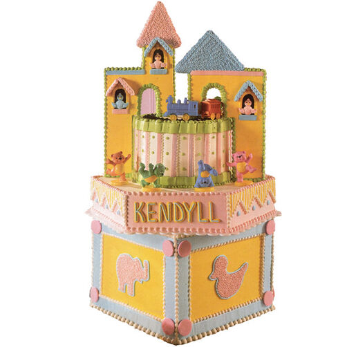 Castle of the Animals Cake