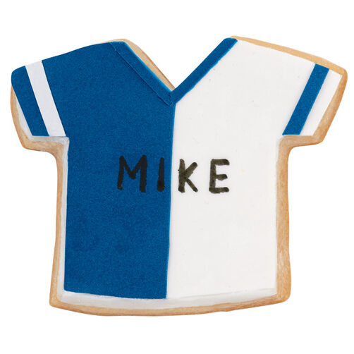 The Blue Team Jersey Cookies