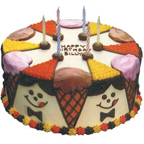 Circle of Friends Cake