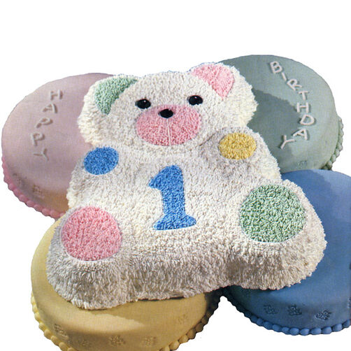 Teddy's #1 Today! Cake