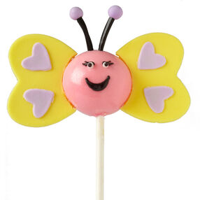 Butterfly Heart Cake Pops