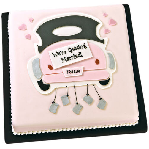 On the Road to Romance Cake