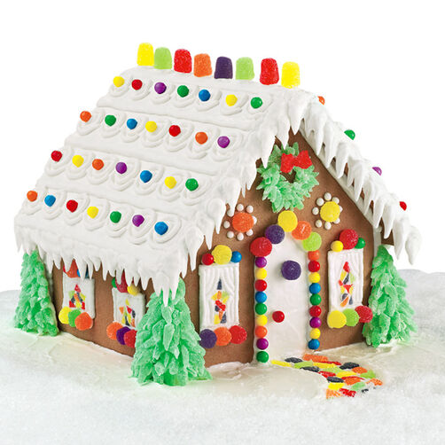 Evergreen Estate Gingerbread House