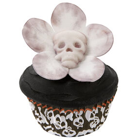 Pushing Up Daisies Halloween Cupcakes