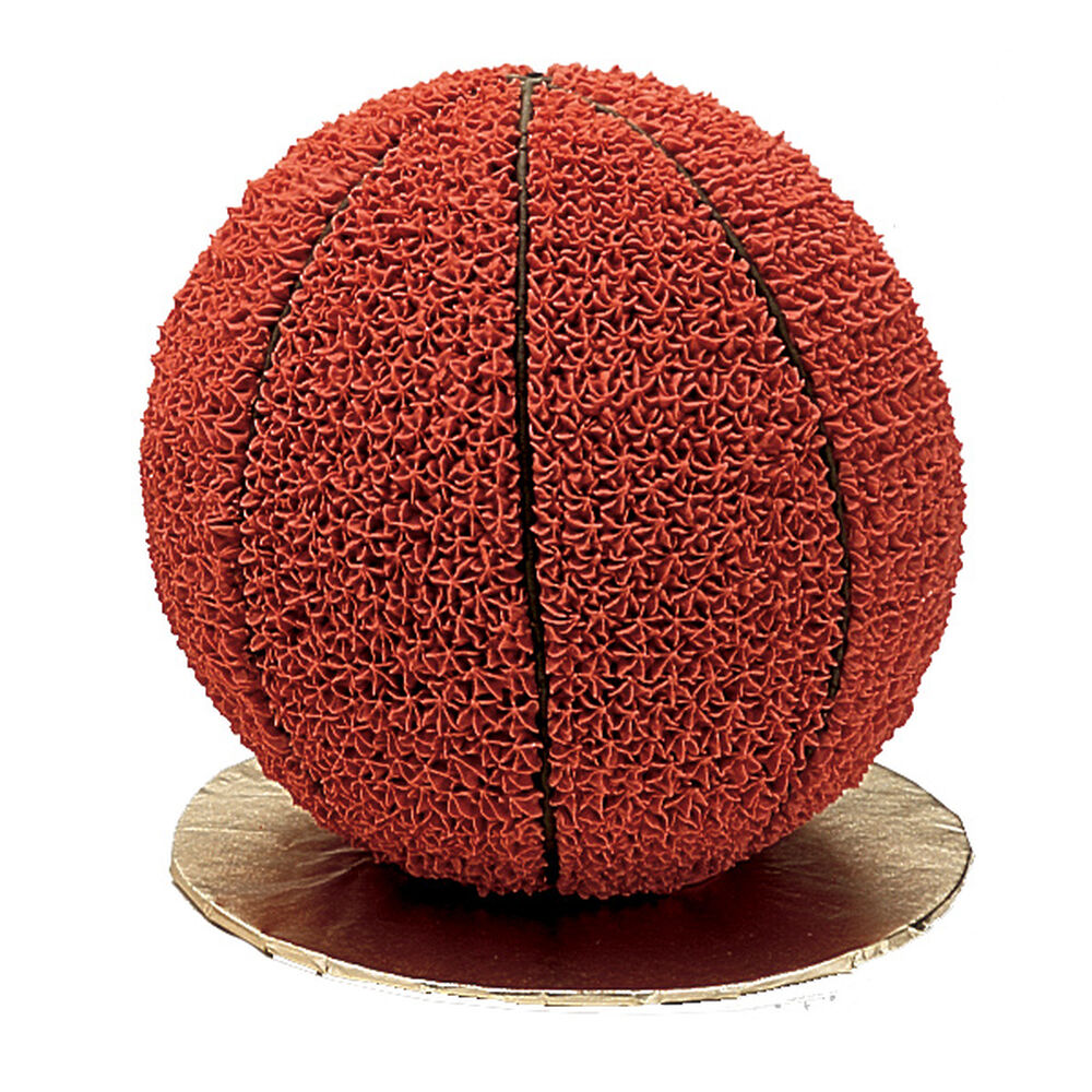 Basketball Cake Wilton