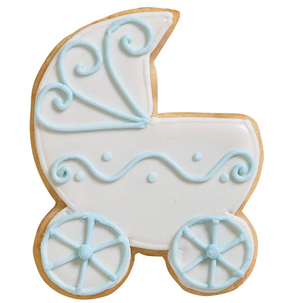 Wilton Baby Carriage Cake