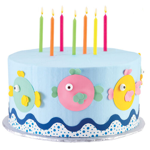 Fish School Colors Cake