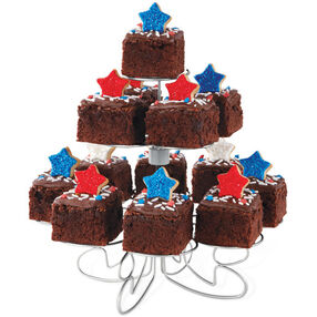 Star-Topped Brownies