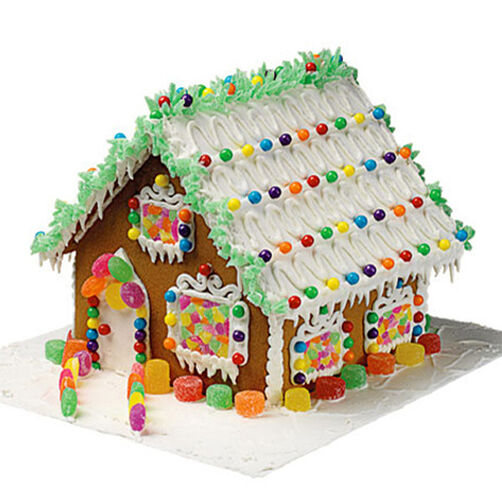 Where the Holidays Live Gingerbread House