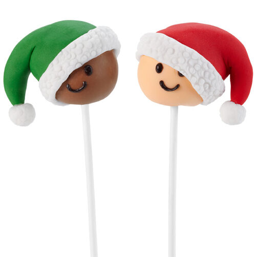 Christmas Cake Pop Pals