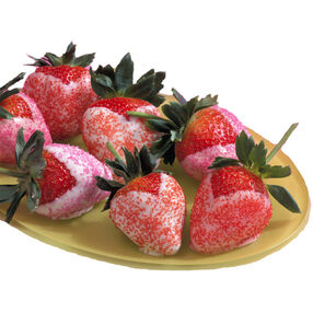 Strawberry Dippers Dessert