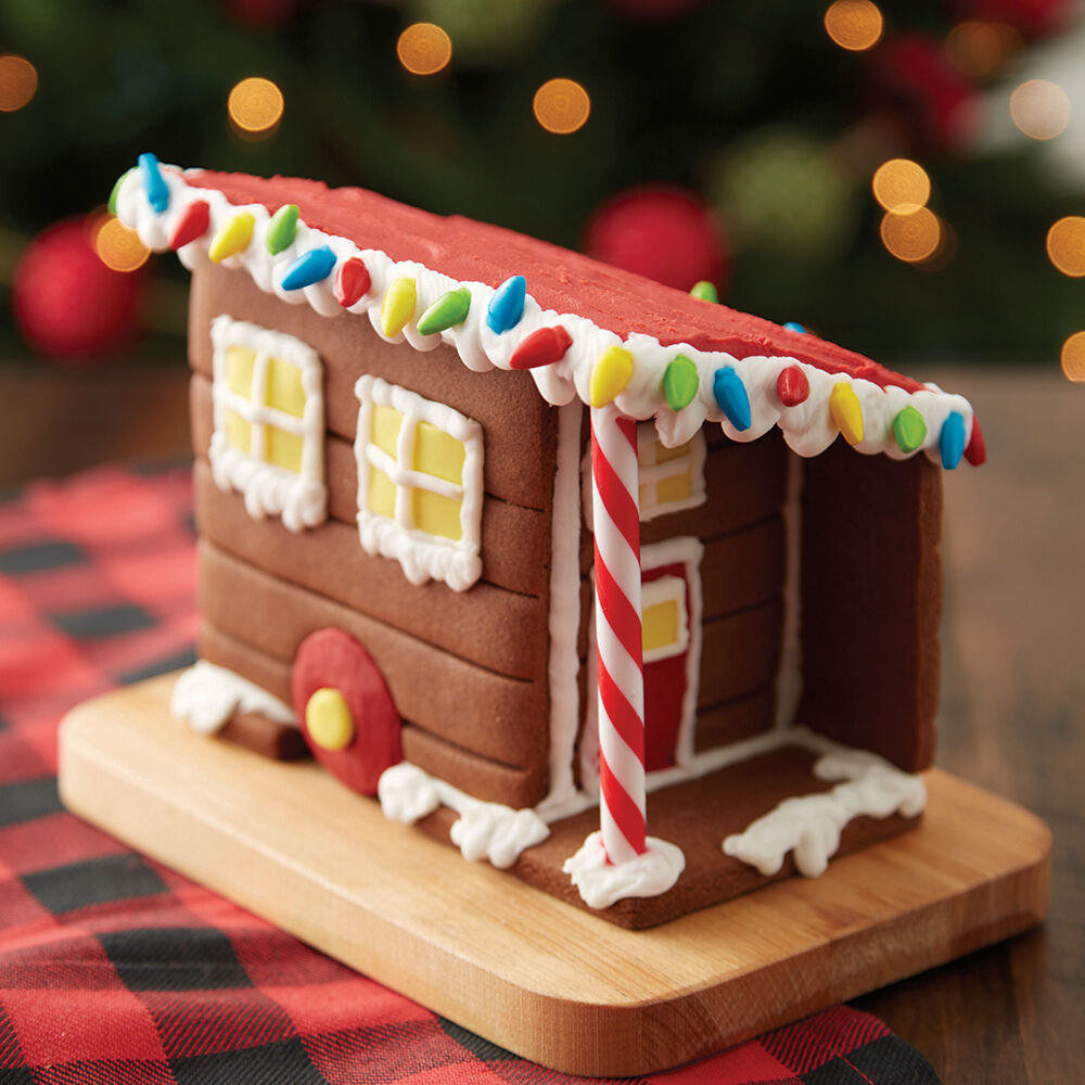 Tiny Gingerbread House 1 Wilton
