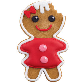 Irresistible Gingerbread Girl Cookie