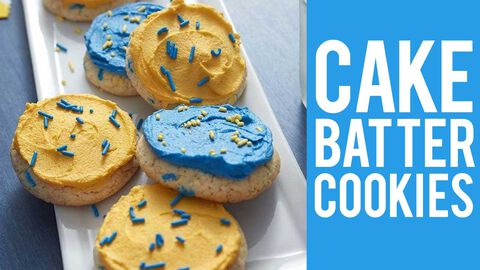 How to Make Cake Batter Cookies