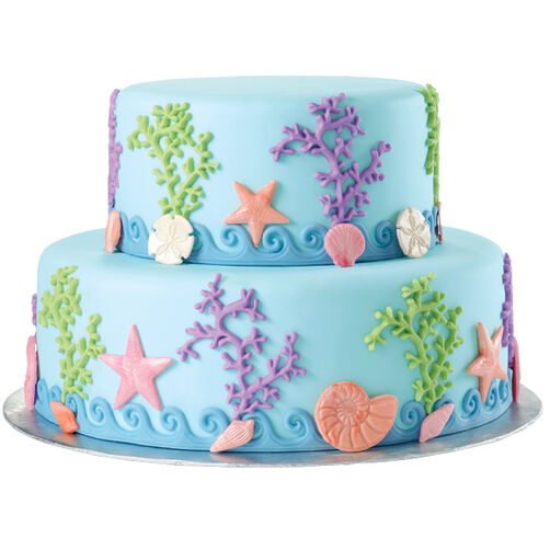 Sea Life All Around Cake