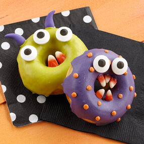 Monster Chomper Halloween Donuts