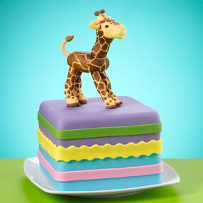 Crafty Giraffe Cake