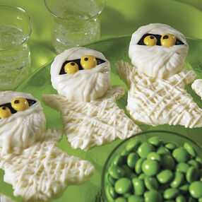 Mummy Cookies Covered in Candy