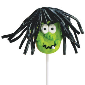 Wacky Witch Cookie Pops