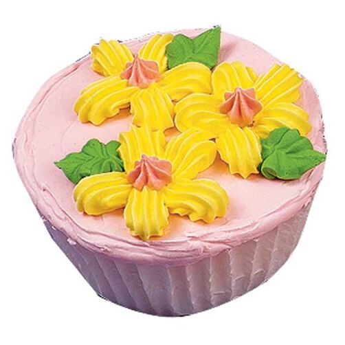 Shell Flower Cupcakes