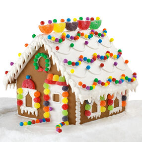 Snowflurry Lodge Gingerbread House