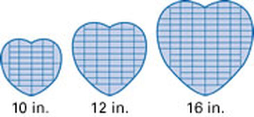Heart Tiers Divide The Vertically Into 1 2ths 4ths 6ths And 8ths Within Rows Slice In Pieces Of Cake