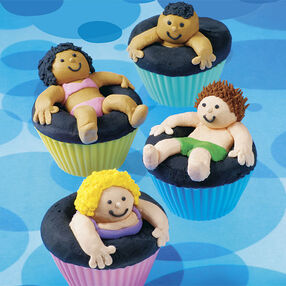 Sink or Swim Cupcakes