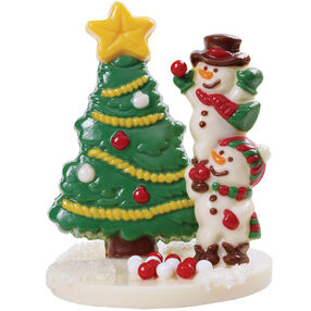 Candy Tree and Frolicking Snowmen