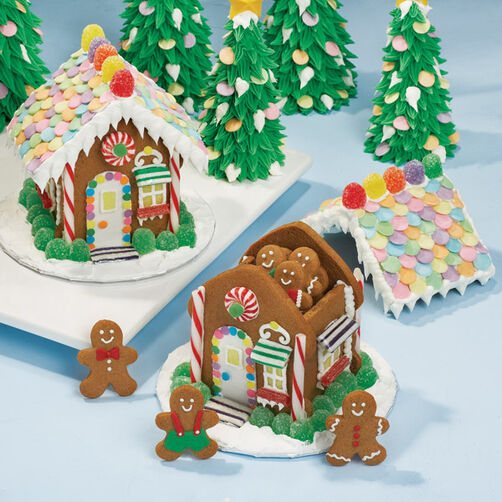 Let S Raise The Roof Gingerbread House Wilton