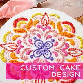 Custom Cake Design in-person class