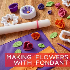 Making Fondant Flowers Class