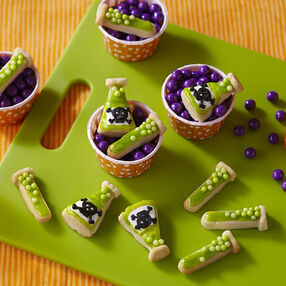 Halloween Cookies for Mad Scientists