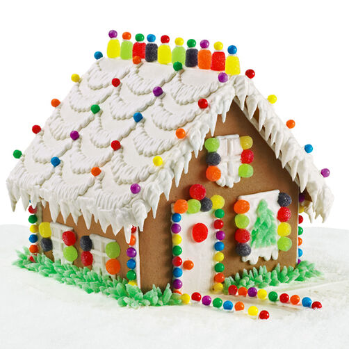 Charming Cottage Gingerbread House